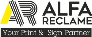 Alfa Reclame | Your print and Sign Partner Logo